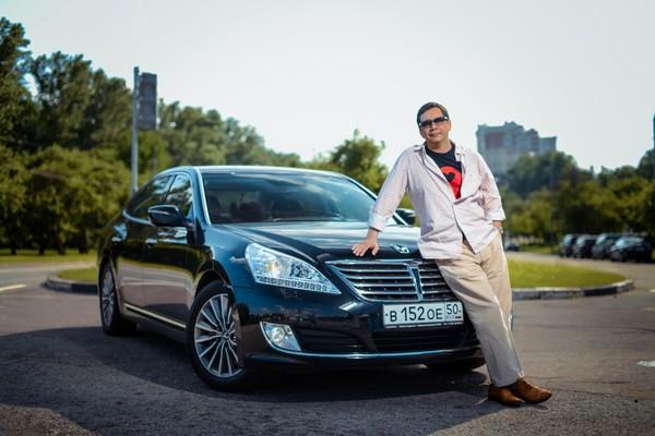 Егор Кончаловский присоединился к «Программе звездных тест-драйвов» Hyundai