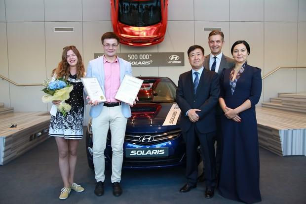 «Хендэ Мотор СНГ» объявляет о продаже 500 000-го автомобиля Solaris