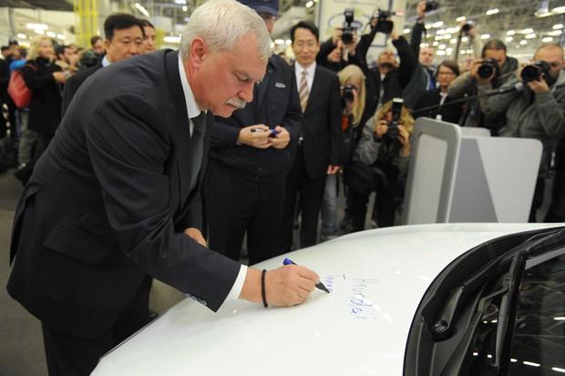 Российский завод Hyundai Motor выпустил миллионный автомобиль