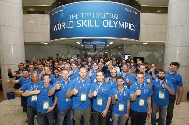 Россиянин Илья Хлыстов одержал победу на Международной олимпиаде Hyundai по владению рабочими навыками