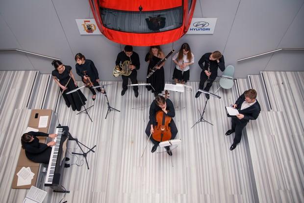 «Хендэ Мотор СНГ» провела восьмую лекцию в рамках проекта «Большая музыка для маленьких»