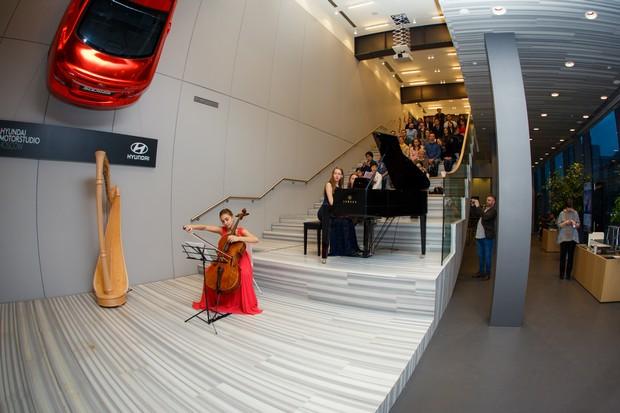 В Hyundai MotorStudio состоялся концерт студентов Московской консерватории