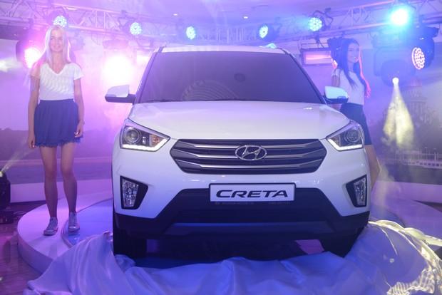 Hyundai представила новый компактный кроссовер Creta