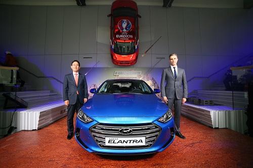 «Хендэ Мотор СНГ» представила новое поколение модели Elantra