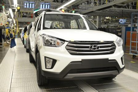 Российский завод Hyundai приступил к финальной стадии тестового производства компактного кроссовера Creta