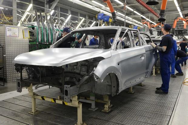 Российский завод Hyundai начал массовое производство кроссовера Creta