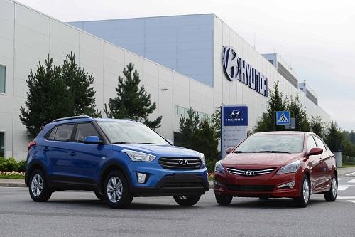 Российский завод Hyundai Motor выпустил более 151 тыс. автомобилей за три квартала 2016 года