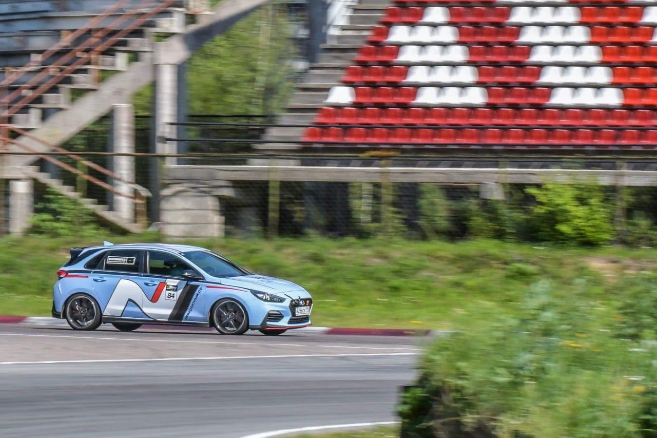 Hyundai i30 N вошел в четверку на гонках Baltic Time Attack Series в Латвии